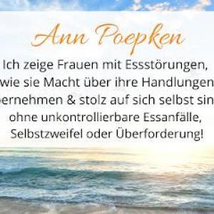 Ann Poepken - Expertin für Frauen mit Essstörungen